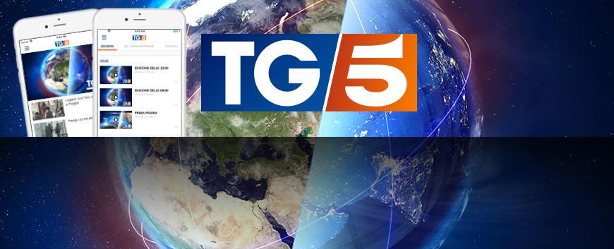 app tg5 mediaset